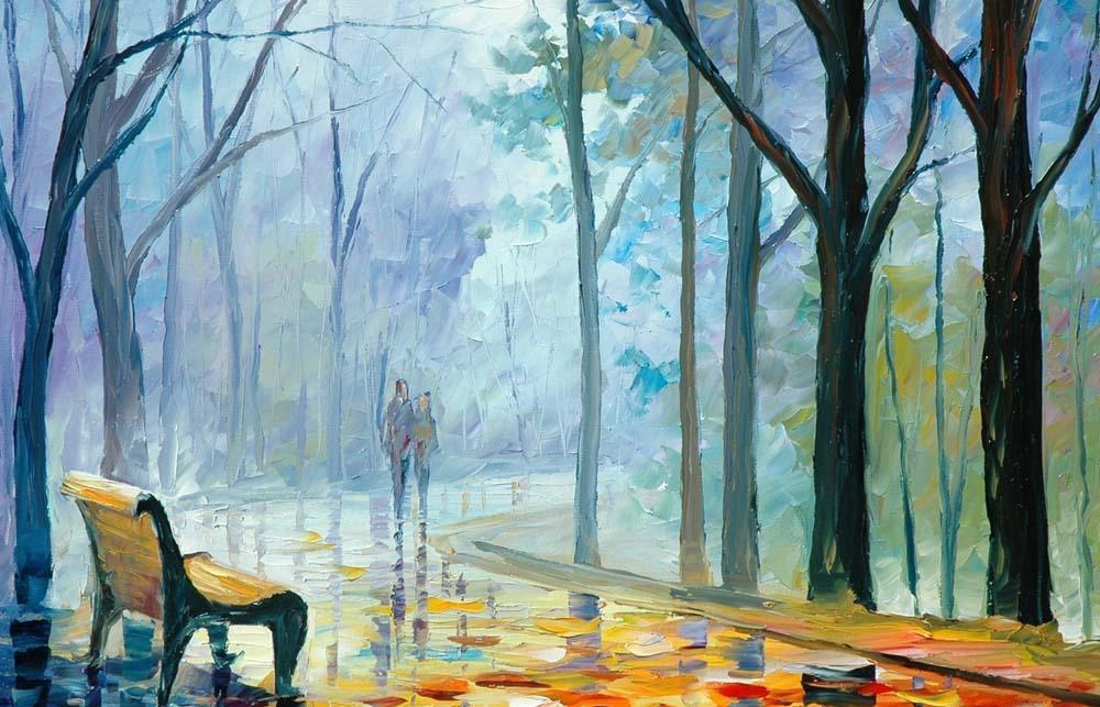 «Туманная аллея» Леонида АфремоваMenglei (Premium)<br>Леонид Афремов изменил к осени отношение многих людей, и раскраски по номерам на холсте сыграли в этом немалую роль. «Туманная аллея» - из той самой серии картин, которые сделали осень символом романтики и влюбленности. Холодное дыхание осени и капельки т...<br><br>Артикул: MG041<br>Основа: Холст<br>Сложность: сложные<br>Размер: 40x50 см<br>Количество цветов: 24<br>Техника рисования: Без смешивания красок