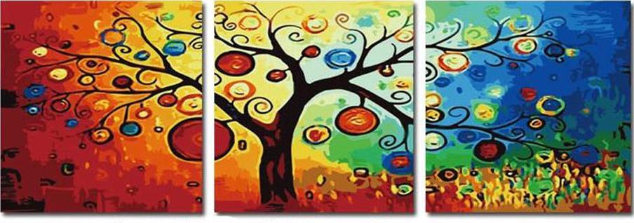 Денежное деревоЦветной (Premium)<br>С помощью картины по номерам можно легко оживить атмосферу дома и украсить интерьер, а если картина еще и несет в себе некий смысл, то это будет только дополнительным бонусом. Денежное дерево, к примеру, не сможет «молчать», ведь его предназначение – прив...<br><br>Артикул: MT3011_Z<br>Основа: Холст<br>Сложность: сложные<br>Размер: 3 шт. 50x50 см<br>Количество цветов: 25<br>Техника рисования: Без смешивания красок