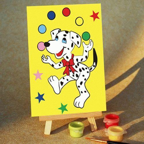 Картина по номерам «Жонглер»Цветной (Premium)<br><br><br>Артикул: MA116_Z<br>Основа: Картон<br>Сложность: легкие<br>Размер: 10x15 см<br>Количество цветов: 5<br>Техника рисования: Без смешивания красок