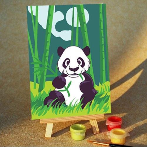 Картина по номерам «Панда»Раскраски по номерам<br>Панда<br>