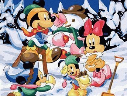 Картина по номерам «Снеговик»Цветной (Premium)<br>Снеговик<br><br>Артикул: ME012_Z<br>Основа: Холст<br>Сложность: легкие<br>Размер: 30x40 см<br>Количество цветов: 25<br>Техника рисования: Без смешивания красок