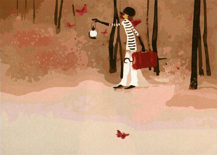 Картина по номерам Цветной (Premium) Фея в лесу ME071_Z