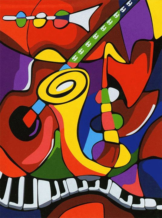 Картина по номерам «Музыка»Цветной (Premium)<br><br><br>Артикул: ME089_Z<br>Основа: Холст<br>Сложность: легкие<br>Размер: 30x40 см<br>Количество цветов: 25<br>Техника рисования: Без смешивания красок