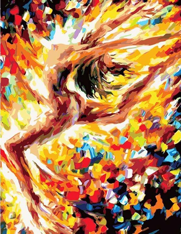 «Танец любви» Леонида АфремоваЦветной (Premium)<br>Динамичный, полный движения и энергии сюжет картины по номерам «Танец любви» сразу притягивает взгляд. Создается впечатление, что еще мгновение, и девушка, завершая па, взглянет на невольного зрителя. Красочная феерия самой жизни, запечатленная Леонидом А...<br><br>Артикул: MG1017_Z<br>Основа: Холст<br>Сложность: средние<br>Размер: 40x50 см<br>Количество цветов: 25<br>Техника рисования: Без смешивания красок