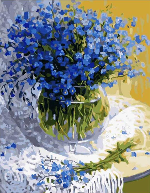«Полевые цветы» Жанны СидоренкоЦветной (Premium)<br>Весна раскрашивает окружающий мир словно художник, и краски у нее разные, но все без исключения сочные и свежие. Вот и этот букет цветов создан Весной, художница Жанна Сидоренко великолепно передала цветовую гамму, светлая и нежная красота ее цветочного...<br><br>Артикул: MG1069_Z<br>Основа: Холст<br>Сложность: сложные<br>Размер: 40x50<br>Количество цветов: 25<br>Техника рисования: Без смешивания красок