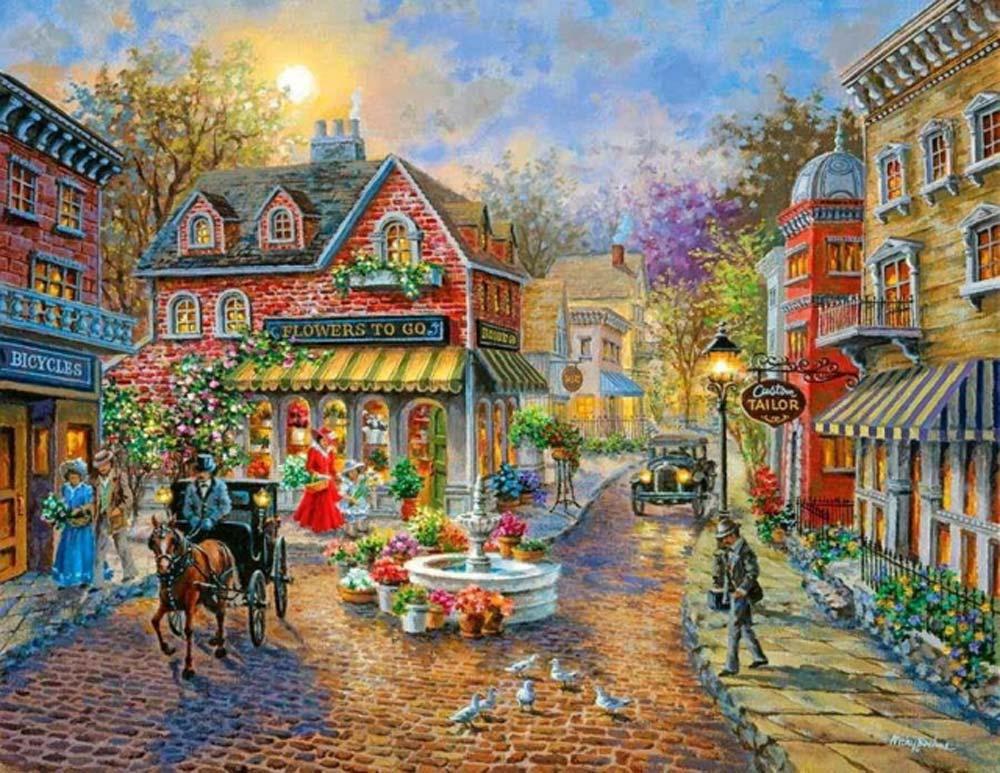Картина по номерам «Воспоминание» Ники БоэмЦветной (Premium)<br><br><br>Артикул: MG1112_Z<br>Основа: Холст<br>Сложность: сложные<br>Размер: 40x50 см<br>Количество цветов: 25<br>Техника рисования: Без смешивания красок
