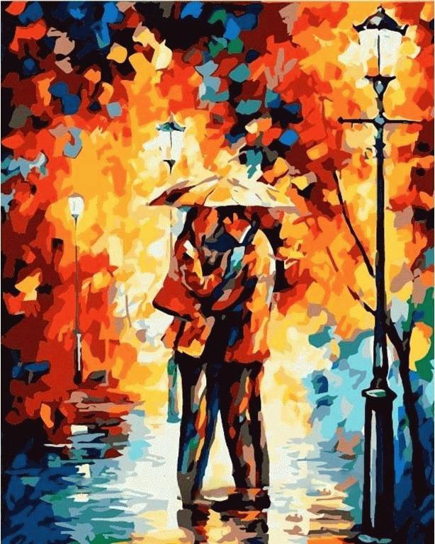 Картина по номерам «Осеннее свидание» Леонида АфремоваMenglei (Premium)<br>Повседневные заботы, всевозможные проблемы и кризисы – кому это незнакомо? Как же хочется отвлечься от серых будней, окунуться в другую реальность, и картины по номерам предоставляют такую возможность. Можно выбрать любой сюжет, например, раскраска «Осенн...<br><br>Артикул: MG123<br>Основа: Холст<br>Сложность: средние<br>Размер: 40x50 см<br>Количество цветов: 25<br>Техника рисования: Без смешивания красок