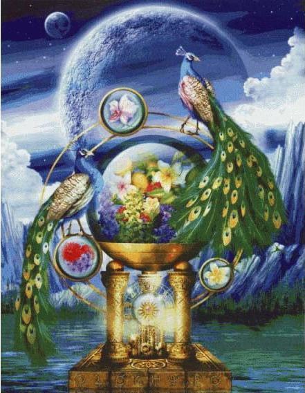 «Волшебный шар» Чиро МарчеттиЦветной (Premium)<br><br><br>Артикул: MMC006_Z<br>Основа: Холст<br>Сложность: сложные<br>Размер: 50x65 см<br>Количество цветов: 25<br>Техника рисования: Без смешивания красок