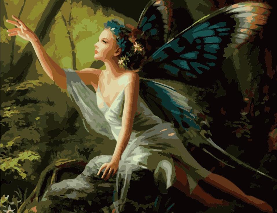 «Бабочка» Мелани ДелонЦветной (Premium)<br>Другой мир, другая жизнь, фантастический сюжет и невероятной красоты фея-бабочка – такой сюжет украсит и гостиную, и загородный дом. Особенно порадует композиция тех, кто зачитывается фэнтази или любит играть в компьютерные фантастические игры. Приятно от...<br><br>Артикул: MMC025_Z<br>Основа: Холст<br>Сложность: средние<br>Размер: 50x65 см<br>Количество цветов: 25<br>Техника рисования: Без смешивания красок
