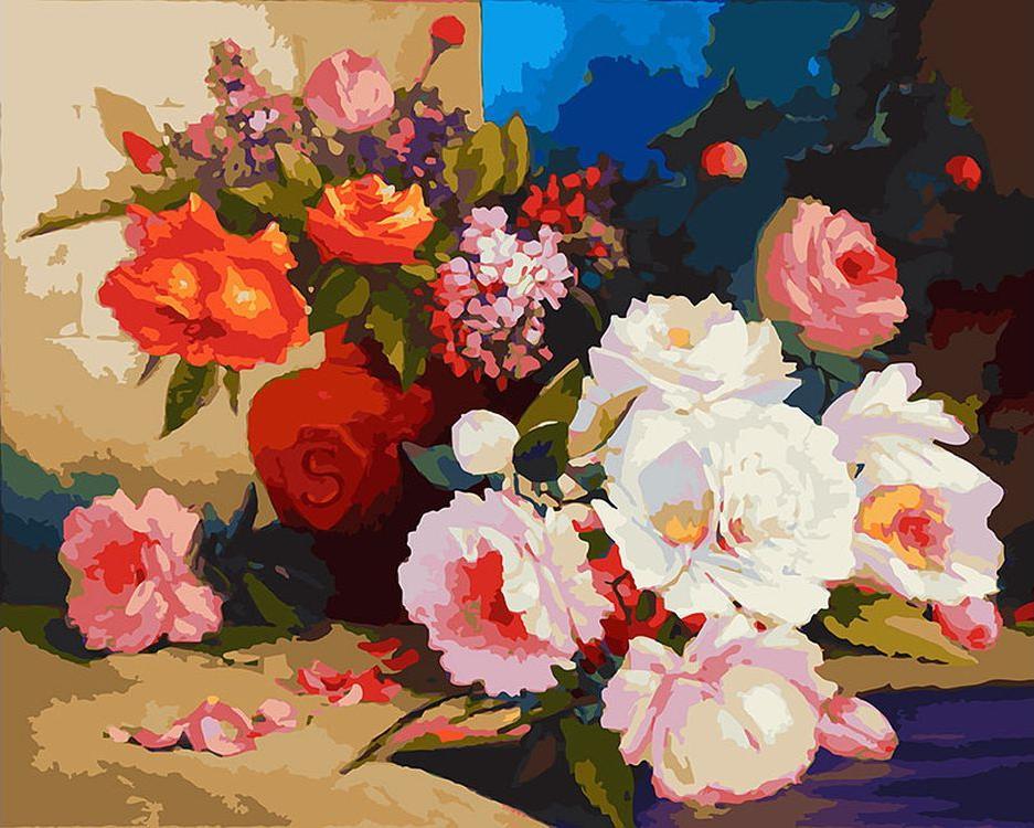 Картина по номерам «Вечерняя тайна»Картины по номерам Белоснежка<br><br><br>Артикул: 028-АВ<br>Основа: Холст<br>Сложность: очень сложные<br>Размер: 40x50 см<br>Количество цветов: 40<br>Техника рисования: Без смешивания красок