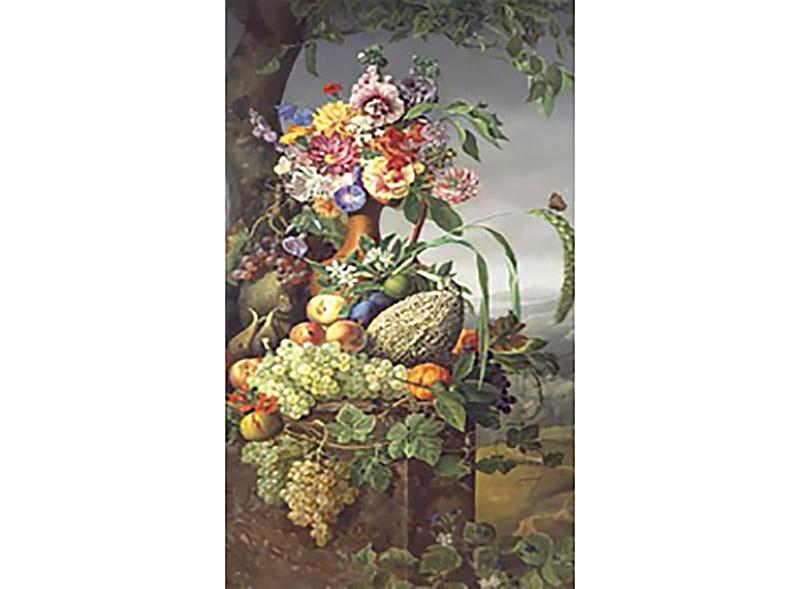 Холст «Цветы и фрукты» Фридриха Вильгельма ФелькераХолсты по контурам<br>Холст с контурами от Цветное.ру – новинка для художников, которые хотят попробовать раскрашивание без номеров. Качественный набросок выполнен на холсте. В комплекте имеется репродукция оригинала, которая позволит сориентироваться, какие именно оттенки нуж...<br><br>Артикул: 1-0703<br>Основа: Картон<br>Сложность: сложные<br>Размер: 30x40 см