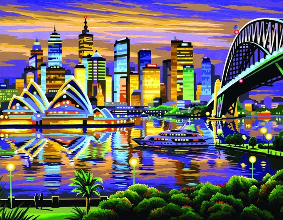 Картина по номерам «Сидней» KSG фото