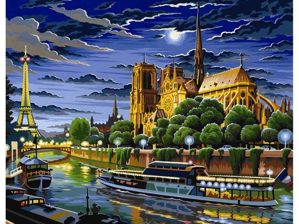 Картина по номерам «Париж»