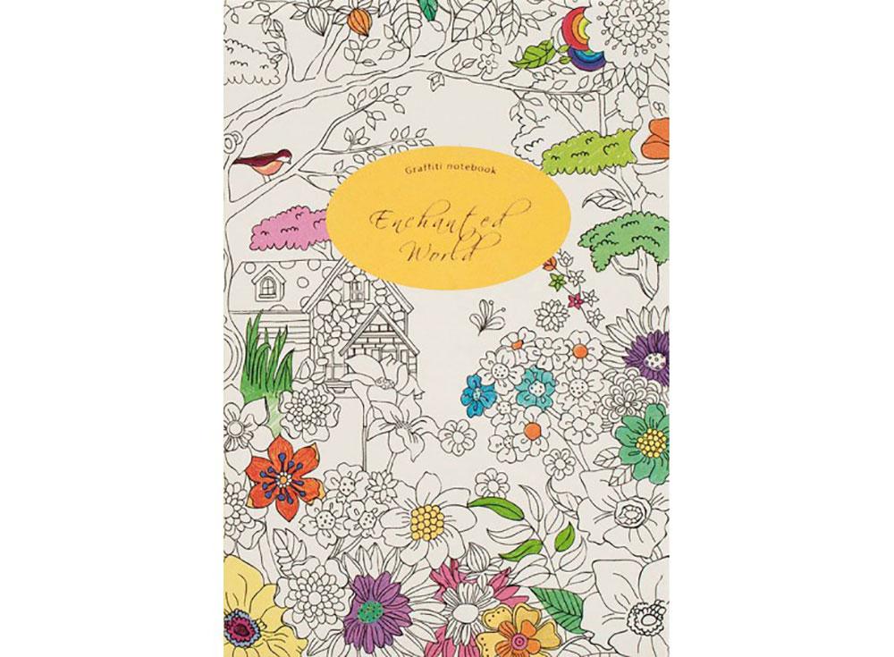 Блокнот-раскраска «Цветочная поляна»Записные книжки и ежедневники<br>Количество листов: 78<br> Размер: 19х13х1,2 cм<br><br>Стильный блокнот с элементами раскрасок подойдет для подарка и взрослым, и детям. Тонированные страницы с линовкой украшены симпатичными рисунками: орнаментами, птичками, котиками, натюрмортами.<br>Продолжайте рис...<br><br>Артикул: 656-SB<br>Размер: 19x13x1,2 см