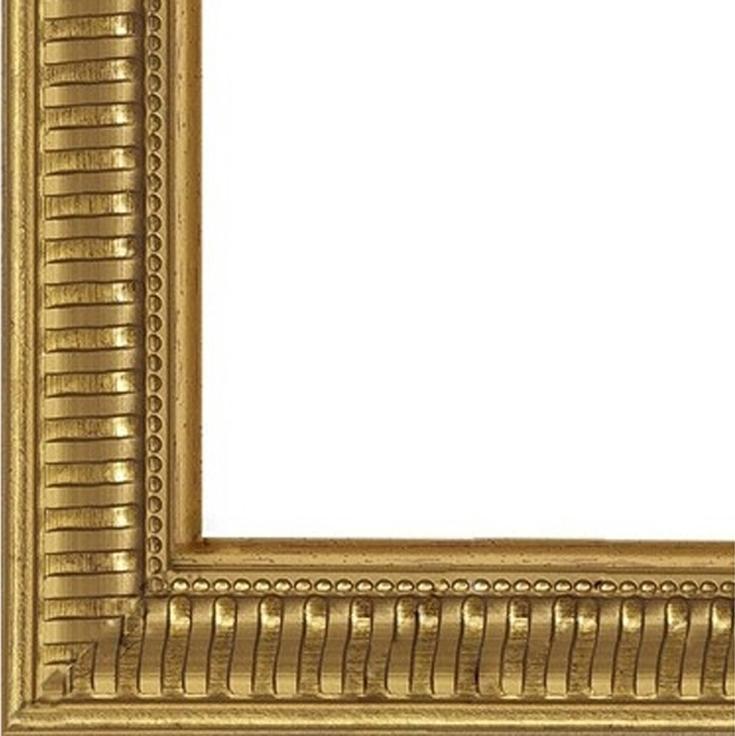 Рамка без стекла для картин «Grey»Багетные рамки<br>Для картин на подрамнике на холсте, на картоне, алмазной мозаики. Стекло в комплект не входит. При необходимости приобретайте стекло отдельно.<br><br>Артикул: B4050/02<br>Размер: 40x50 см<br>Цвет: Золото<br>Ширина: 25<br>Материал багета: Пластик