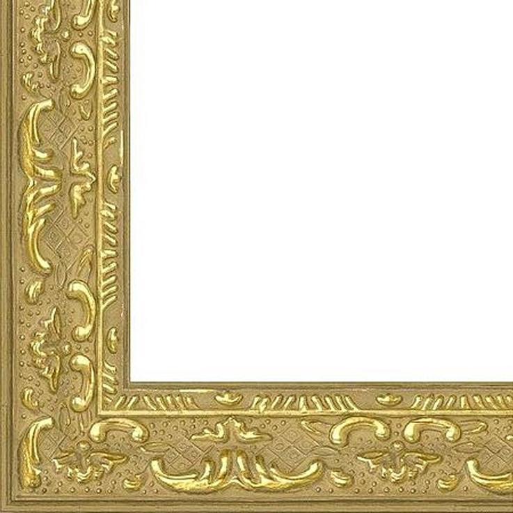 Рамка без стекла для картин «Sumer»Багетные рамки<br>Для картин на картоне, алмазной мозаики. Стекло в комплект не входит. При необходимости приобретайте стекло отдельно.<br><br>Артикул: B4050/07<br>Размер: 40x50 см<br>Цвет: Золото<br>Ширина: 22<br>Материал багета: Пластик