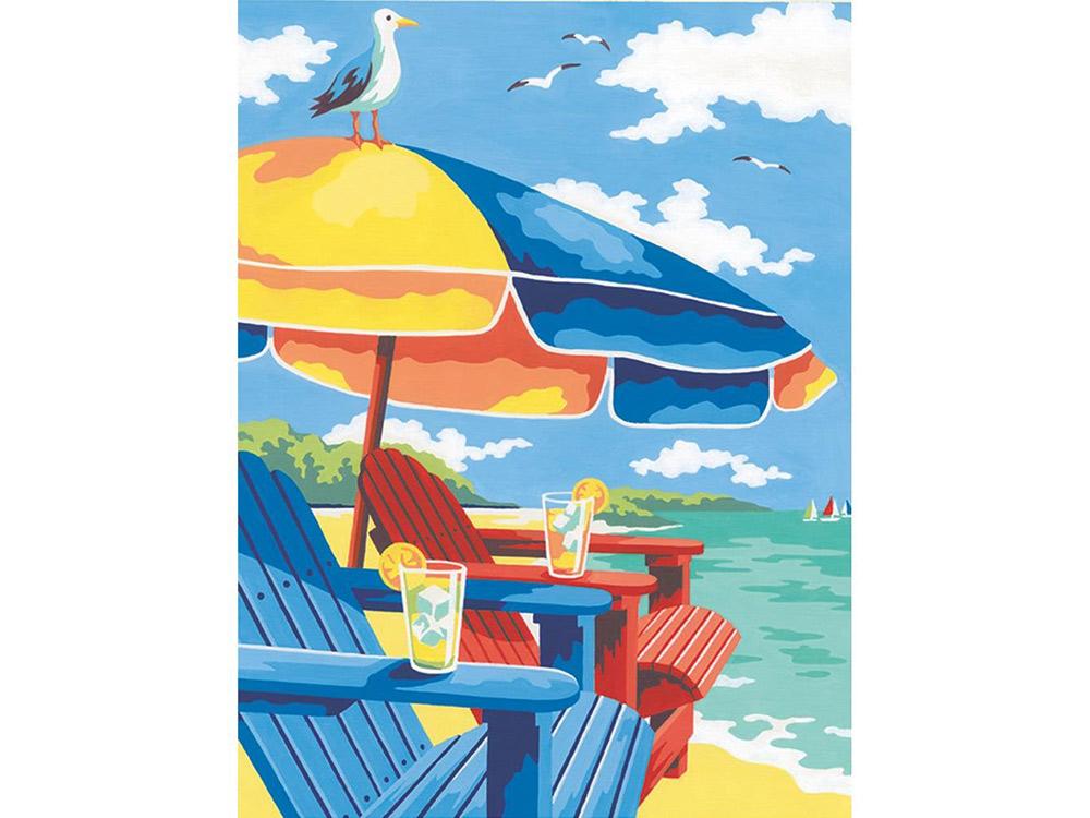 Картина по номерам «На пляже»Раскраски по номерам Dimensions<br>Картина по номерам раскрашивается с применением техники смешивания красок.<br> <br> Dimensions - один из самых известных брендов товаров для хобби. Картины по номерам от этого производителя безупречны по качеству всех составляющих - от картонной основы до гер...<br><br>Артикул: DMS-73-91528<br>Основа: Картон<br>Сложность: очень сложные<br>Размер: 23x33 см<br>Количество цветов: 12<br>Техника рисования: Со смешиванием красок