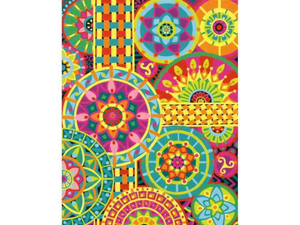 «Мандала»Раскраски по номерам Dimensions<br>Картина по номерам раскрашивается с применением техники смешивания красок.<br> <br> Dimensions - один из самых известных брендов товаров для хобби. Картины по номерам от этого производителя безупречны по качеству всех составляющих - от картонной основы до гер...<br><br>Артикул: DMS-73-91542<br>Основа: Картон<br>Сложность: очень сложные<br>Размер: 28x36 см<br>Количество цветов: 12<br>Техника рисования: Со смешиванием красок