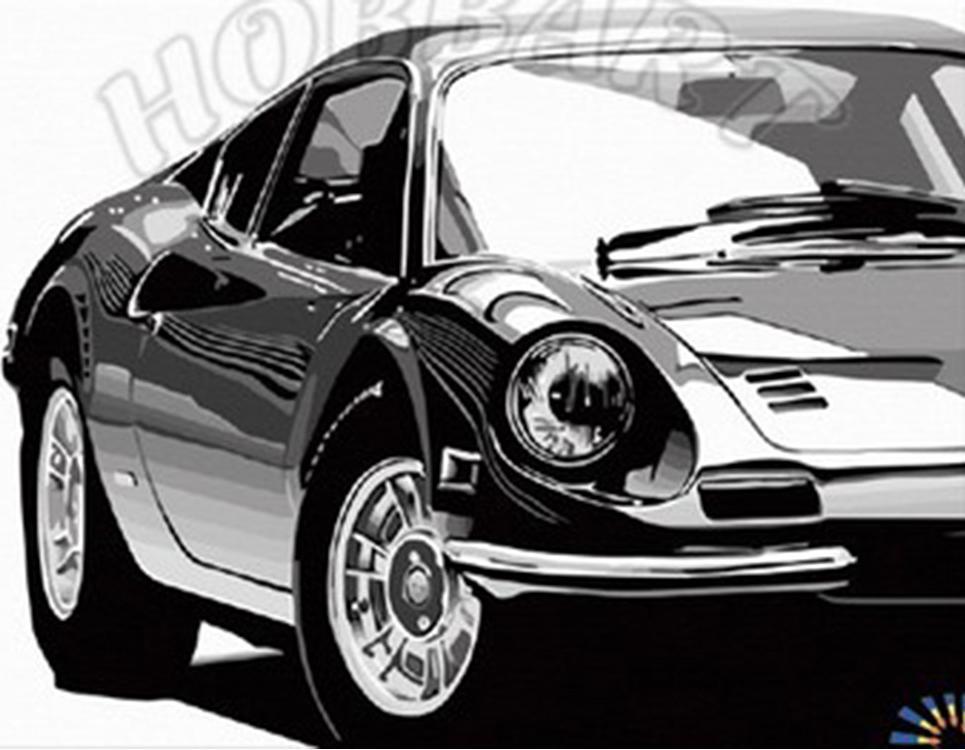 «Машина моей мечты»Hobbart<br><br><br>Артикул: DZ3040002<br>Основа: Холст<br>Сложность: сложные<br>Размер: 30x40 см<br>Количество цветов: 25<br>Техника рисования: Без смешивания красок