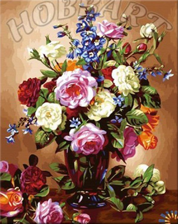 Картина по номерам «Украшение дома»Hobbart<br><br><br>Артикул: DZ4050032<br>Основа: Холст<br>Сложность: средние<br>Размер: 40x50 см<br>Количество цветов: 35<br>Техника рисования: Без смешивания красок