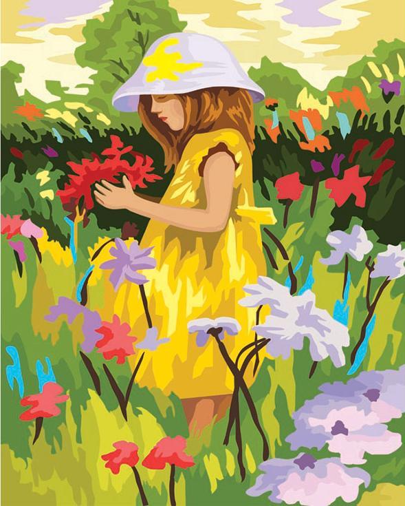 «Летняя палитра»Картины по номерам Белоснежка<br><br><br>Артикул: 022-CG<br>Основа: Холст<br>Сложность: сложные<br>Размер: 40x50 см<br>Количество цветов: 28<br>Техника рисования: Без смешивания красок