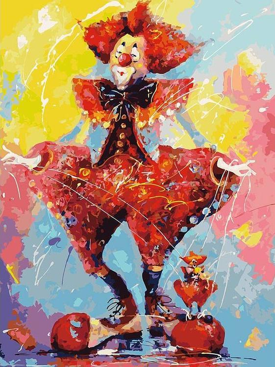 Картина по номерам «Дирижер» Лианы МоисеевойКартины по номерам Белоснежка<br><br><br>Артикул: 096-AS<br>Основа: Холст<br>Сложность: очень сложные<br>Размер: 30x40 см<br>Количество цветов: 33<br>Техника рисования: Без смешивания красок