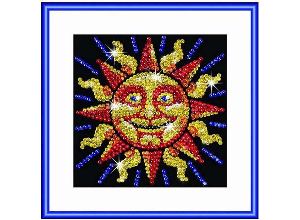 Мозаика из пайеток «Солнце»