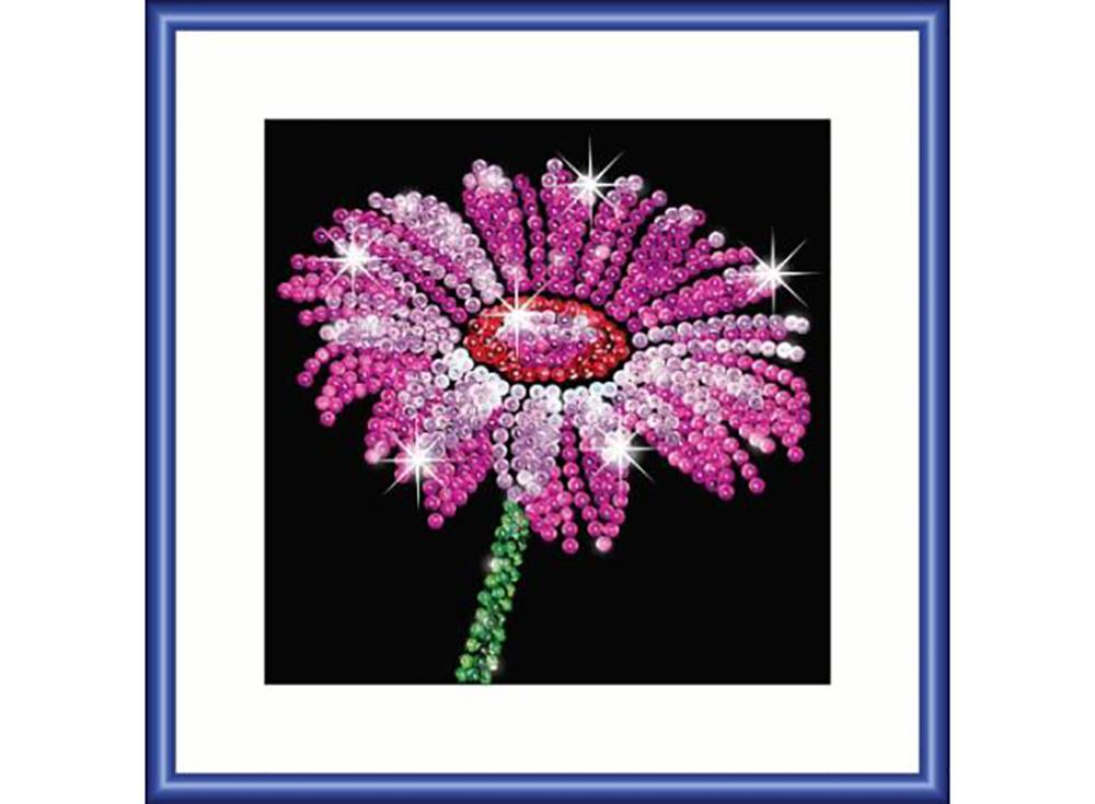 Мозаика из пайеток «Цветок»