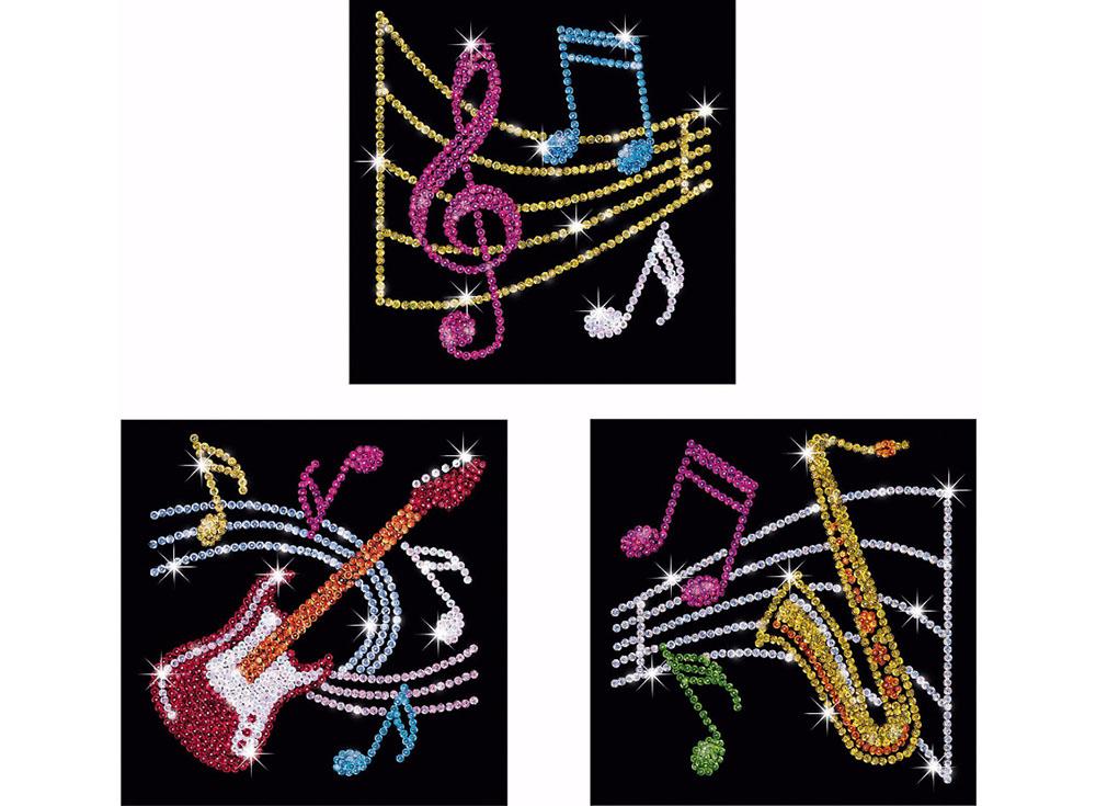 Мозаика из пайеток «Музыка»