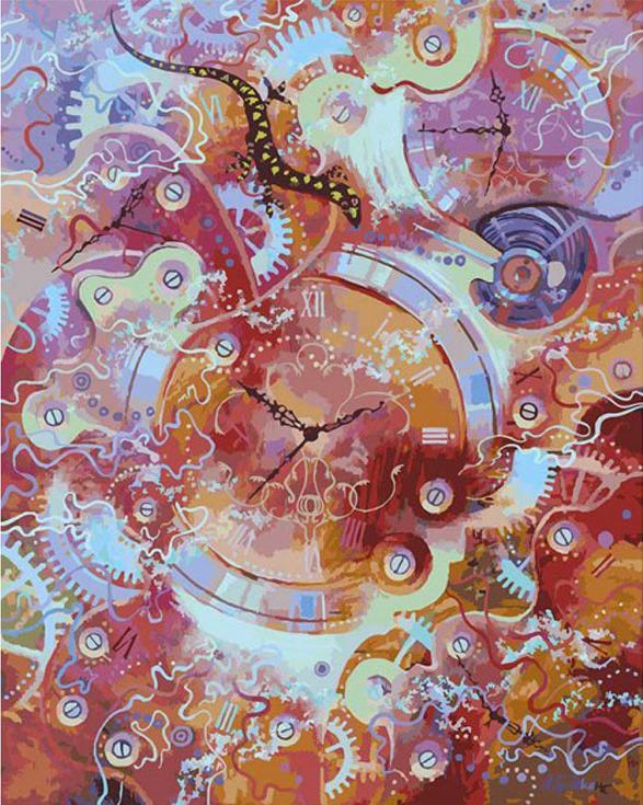 «Пески времени» Михаила БровкинаКартины по номерам Белоснежка<br><br><br>Артикул: 135-АВ<br>Основа: Холст<br>Сложность: очень сложные<br>Размер: 40x50 см<br>Количество цветов: 38<br>Техника рисования: Без смешивания красок