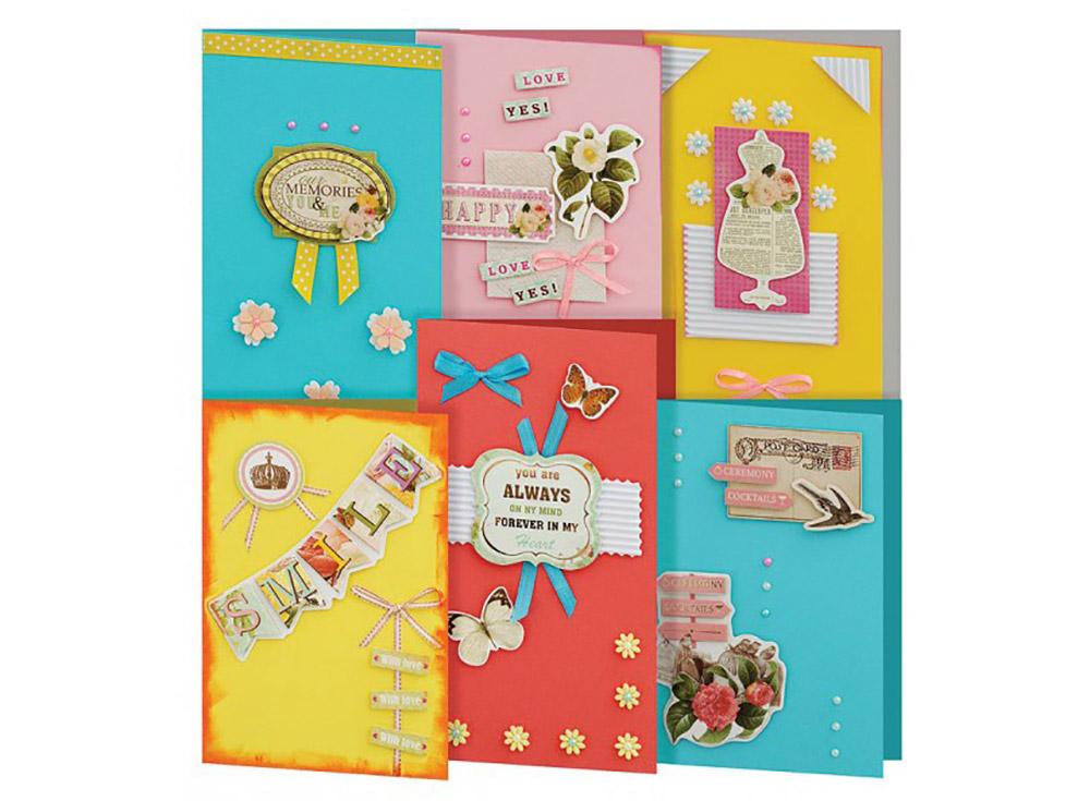 Набор из 6-ти открыток «Принцесса»Наборы для создания открыток<br><br><br>Артикул: 222-SB