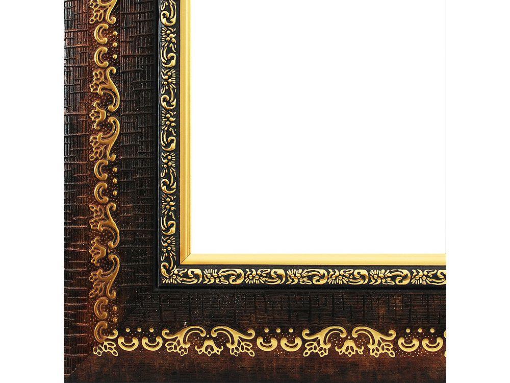 Рамка для картин «Janet»Багетные рамки<br><br><br>Артикул: 2402-BB<br>Размер: 40x50 см<br>Цвет: Коричневый<br>Ширина: 55 мм<br>Материал багета: Пластик
