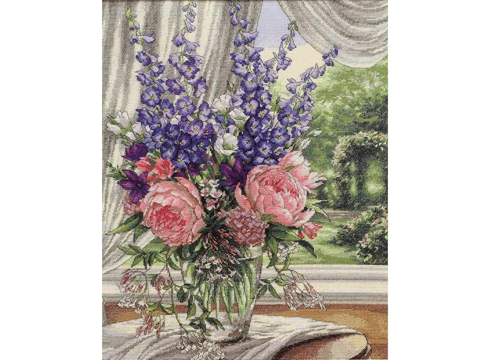 Купить Вышивка крестом, Набор для вышивания «Цветы на столе» Игоря Левашова, Dimensions, США