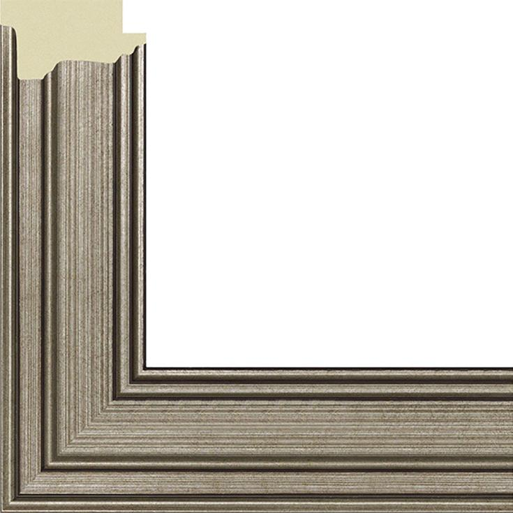 Рамка без стекла для картин «Silver»Багетные рамки<br><br><br>Артикул: 4050/15<br>Размер: 40x50 см<br>Цвет: Платина<br>Ширина: 33<br>Материал багета: Пластик