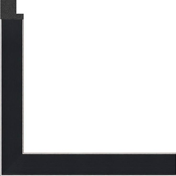 Рамка без стекла дл картин «Dark»Багетные рамки<br><br><br>Артикул: g3848/17<br>Размер: 38x48 см<br>Цвет: Черный<br>Ширина: 20<br>Материал багета: Пластик