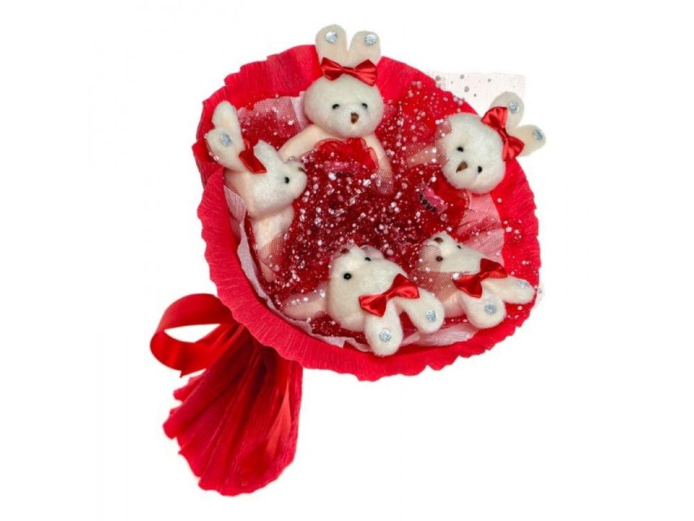 Набор для создания букета «Love»Букеты из мягких игрушек<br><br><br>Артикул: 5ZL