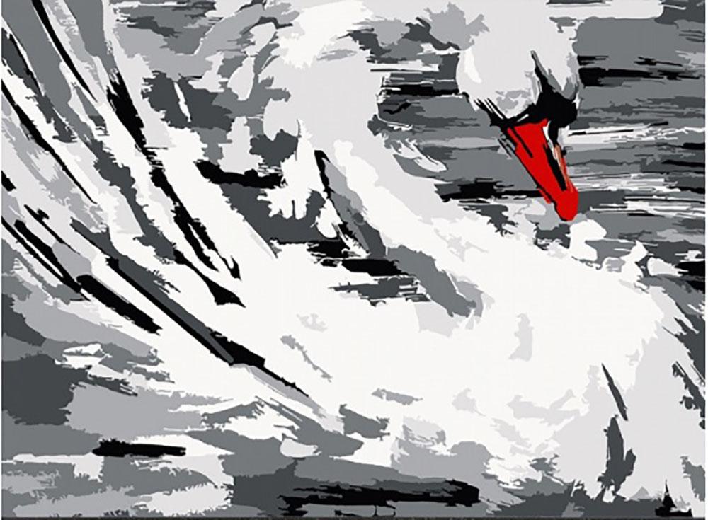 Открытка по номерам «Белый лебедь»Открытки по номерам<br>Новинка! Открытки по номерам - оригинальный подарок к любому торжеству. Такую открытку невозможно обойти вниманием и просто забыть о ней, как об очередном дежурном безликом презенте. <br>      Гарантируем, проблем с выбором подарка больше не будет, у н...<br><br>Артикул: AM002<br>Основа: Картон<br>Сложность: легкие<br>Размер: 30x40 см<br>Количество цветов: 9<br>Техника рисования: Без смешивания красок