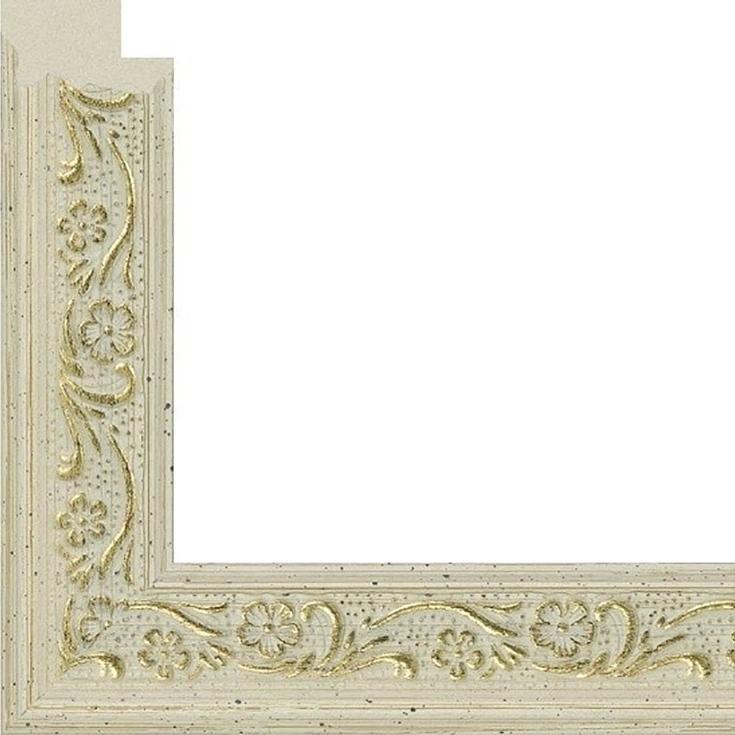 Рамка без стекла для картин «Diana»Багетные рамки<br><br><br>Артикул: B4050/03<br>Размер: 40x50 см<br>Цвет: Слоновая кость<br>Ширина: 23<br>Материал багета: Пластик<br>Глубина багета: 8 мм