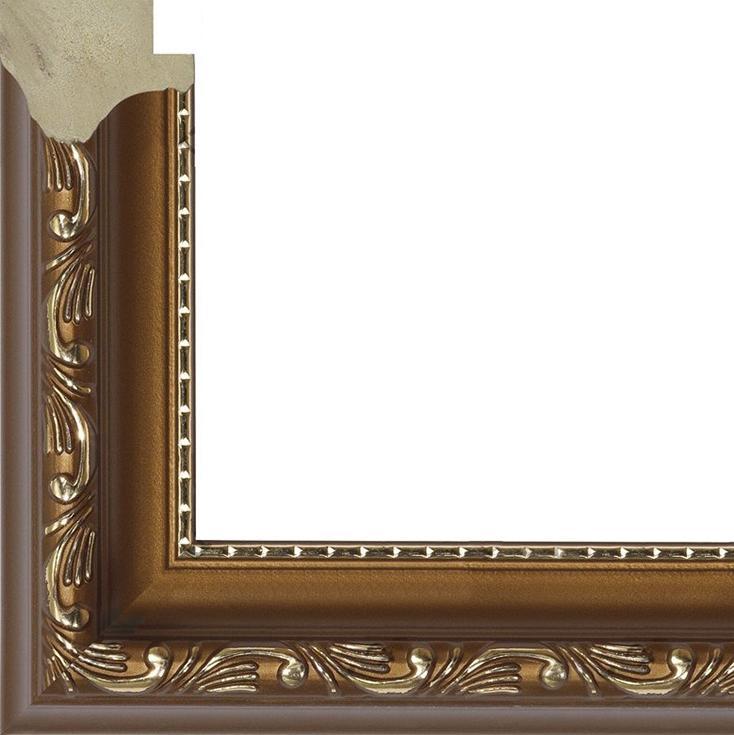 Рамка без стекла для картин «Winterfell»Багетные рамки<br><br><br>Артикул: B4050/06<br>Размер: 40x50 см<br>Цвет: Бронза<br>Ширина: 30<br>Материал багета: Пластик