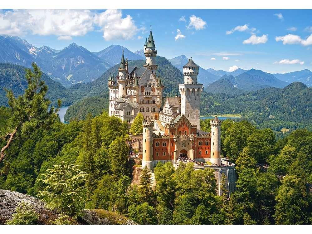 Пазлы «Замок Нойшванштайн, Германия»Пазлы от производителя Castorland<br>Пазл - игра-головоломка, мозаика, состоящая из множества фрагментов, различающихся по форме.<br> По мнению психологов, игра в пазлы способствует развитию логического мышления, внимания, воображения и памяти. Пазлы хороши для всех возрастов - и ребенка-дошко...<br><br>Артикул: C151424<br>Размер: 68x47 см