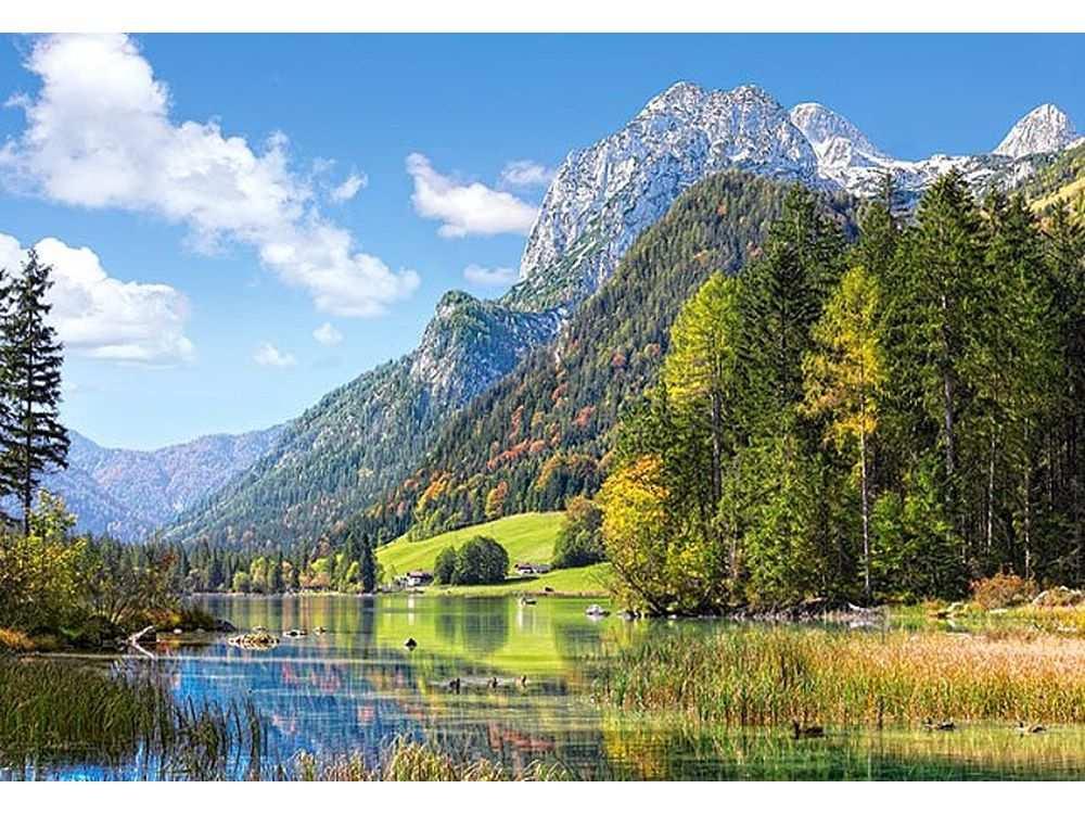 Castorland Пазлы «Гора Убежище в Альпах» C300273