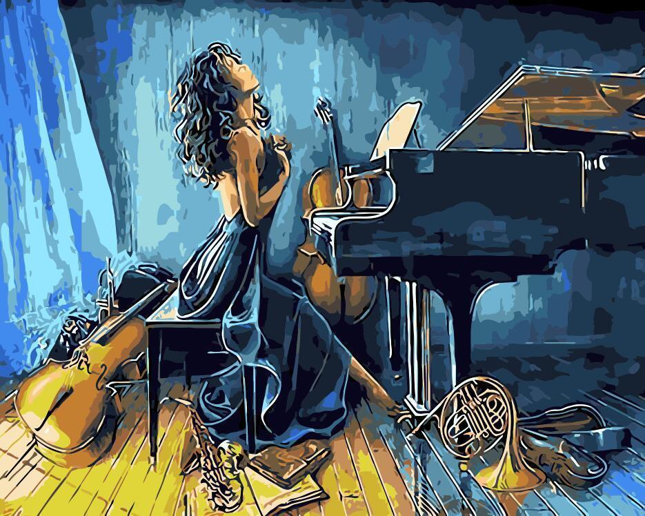 Картина по номерам «Со страстью» Ханн Лор КёлерPaintboy (Premium)<br><br><br>Артикул: Gx7011<br>Основа: Холст<br>Сложность: сложные<br>Размер: 40x50 см<br>Количество цветов: 18<br>Техника рисования: Без смешивания красок