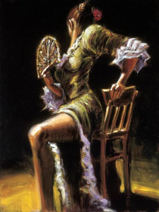 «Танец страсти» Фабиана ПерезаPaintboy (Premium)<br><br><br>Артикул: GX8614<br>Основа: Холст<br>Сложность: средние<br>Размер: 40x50 см<br>Количество цветов: 27<br>Техника рисовани: Без смешивани красок