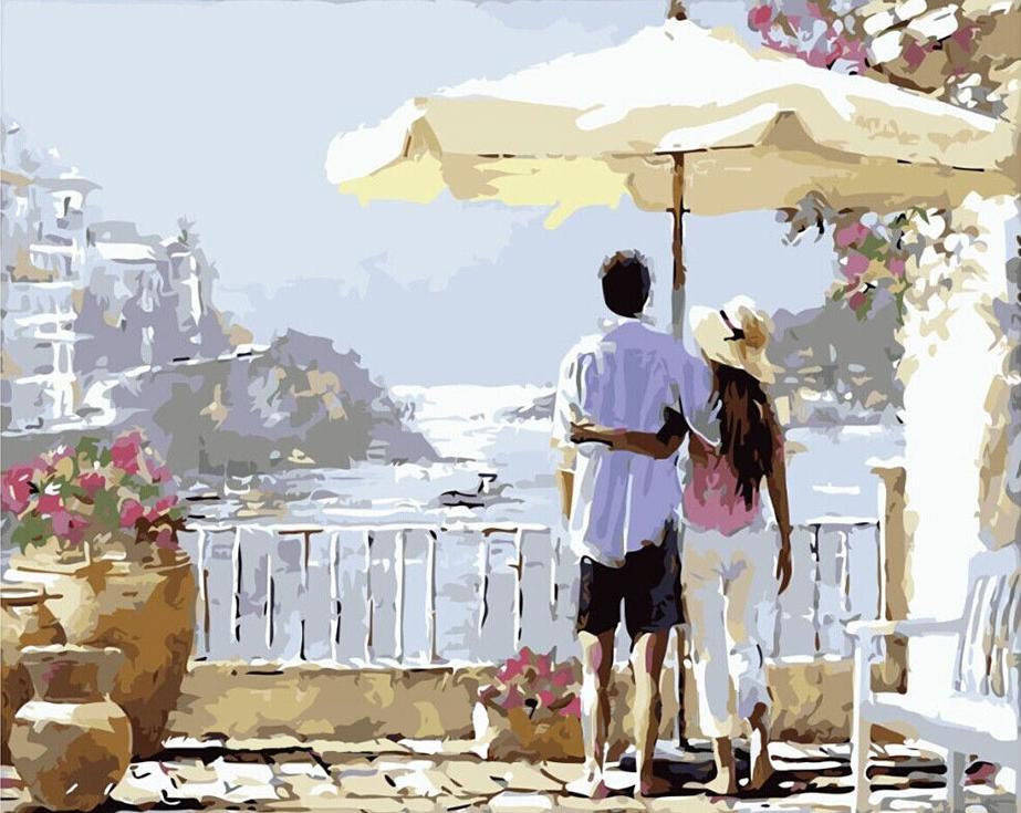 Картина по номерам «Каникулы в Италии» Ричарда МакнейлаРаскраски по номерам Paintboy (Original)<br><br><br>Артикул: GX8631_R<br>Основа: Холст<br>Сложность: средние<br>Размер: 40x50 см<br>Количество цветов: 26<br>Техника рисования: Без смешивания красок