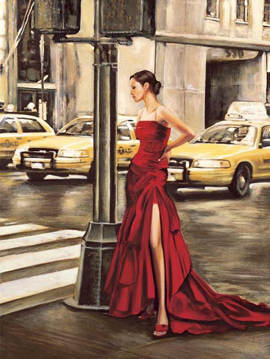 «Женщина в Нью-Йорке» Эдоардо РоверэPaintboy (Premium)<br><br><br>Артикул: GX9202<br>Основа: Холст<br>Сложность: средние<br>Размер: 40x50<br>Количество цветов: 24<br>Техника рисования: Без смешивания красок