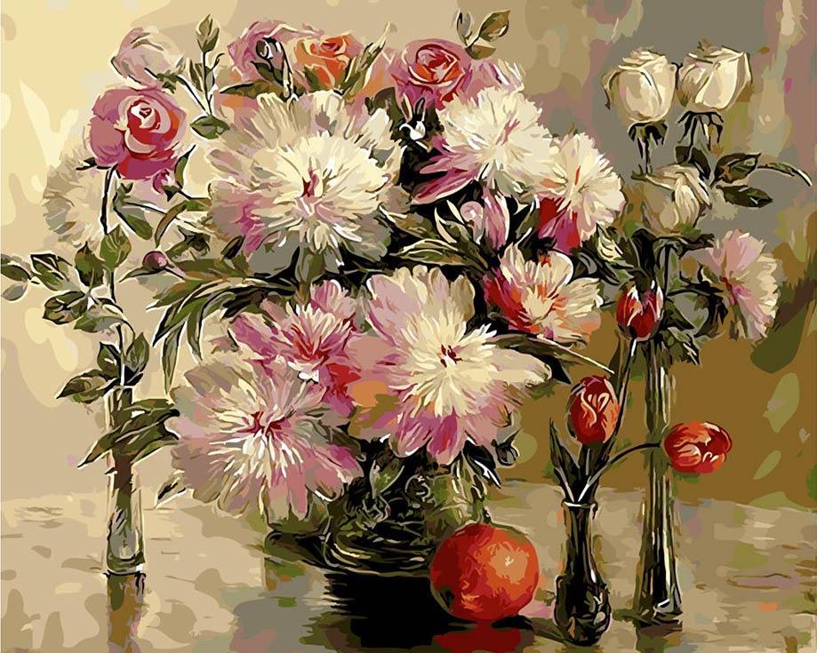 Картина по номерам «Поздравление!» Ильдуса МуртазинаPaintboy (Premium)<br><br><br>Артикул: GX9247<br>Основа: Холст<br>Сложность: сложные<br>Размер: 40x50 см<br>Количество цветов: 30<br>Техника рисования: Без смешивания красок