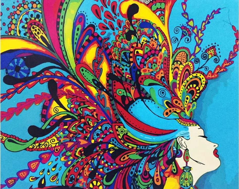 «Яркие цвета»Paintboy (Premium)<br><br><br>Артикул: GX9577<br>Основа: Холст<br>Сложность: средние<br>Размер: 40x50 см<br>Количество цветов: 19<br>Техника рисования: Без смешивания красок