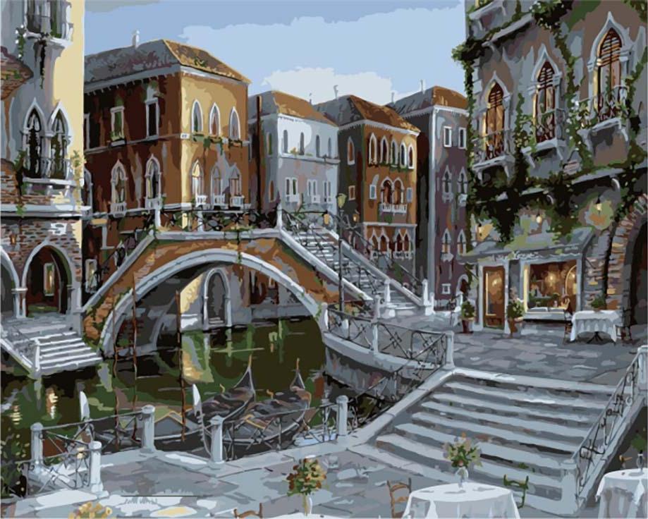Картина по номерам «Венецианский восход» Роберта ПежманаЦветной (Premium)<br><br><br>Артикул: MG1144_Z<br>Основа: Холст<br>Сложность: сложные<br>Размер: 40x50 см<br>Количество цветов: 25<br>Техника рисования: Без смешивания красок