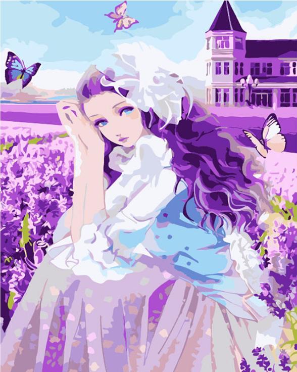 «Девушка и бабочки»Раскраски по номерам Menglei (Standart)<br><br><br>Артикул: MG624_S<br>Основа: Холст<br>Сложность: сложные<br>Размер: 40x50 см<br>Количество цветов: 25<br>Техника рисования: Без смешивания красок