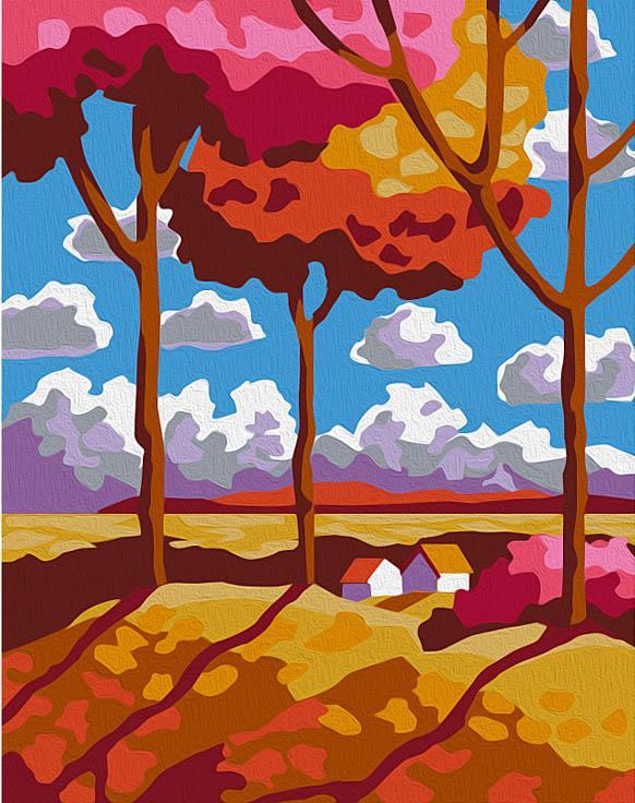 """Картина по номерам «Мини пейзаж» (мини-раскраска)Мини-раскраска<br>Картина по номерам раскрашивается с применением техники смешивания красок.<br> <br> Картины по номерам """"Артвентура"""" в компактном мини-размере. Российский производитель картин премиум-класса креативно реализовал идею и пожелания многих поклонников раскрасок по...<br>"""